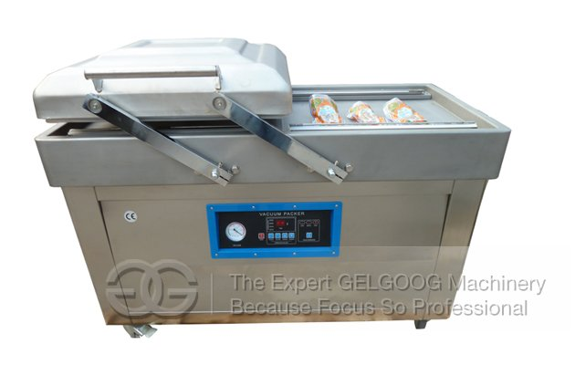 Double Rooms Vacuum Packing Machine For Food