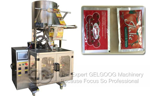 Tomato Paste Sachet Packing Machine|Ketchup Pouch Packing Machine