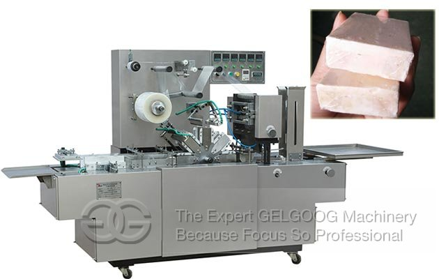 Transparent Film Soap Wrapping Machine