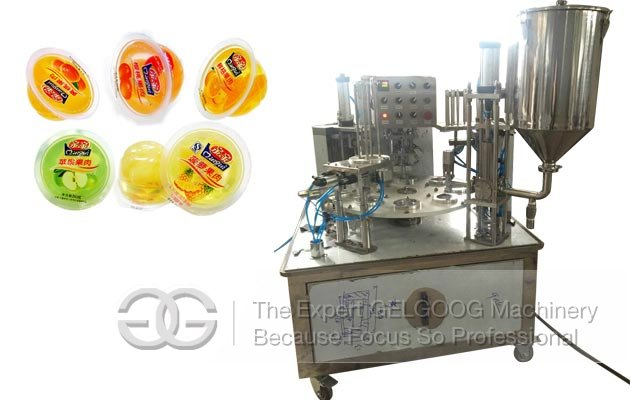 Rotary Cup Jelly Filling Sealing Machine