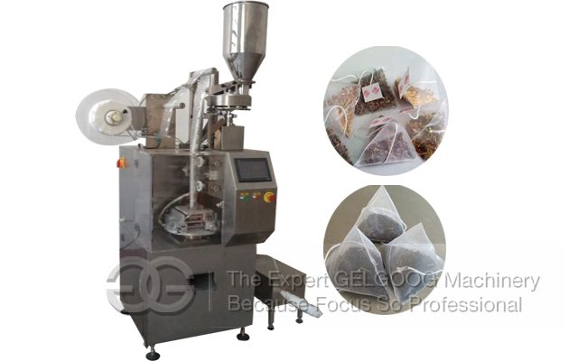 Pyramid Tea Bag Packing Machine|Triangle Tea Bag Pack Machine CE Approved