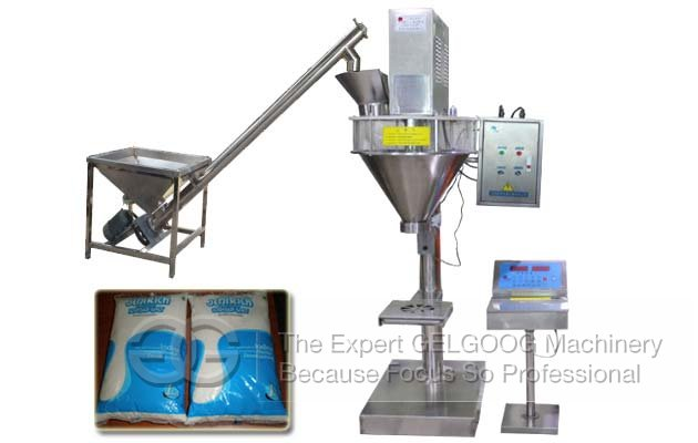 Quantitative Seasoning Powder Packing Machine|Salt Filling Sealing Machine