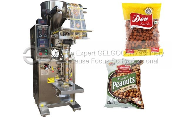 Turnpalte Coated Peanuts Packaging Machine|Rice Packing Machine