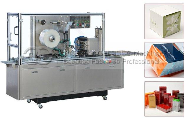 3D Cigarettes Packing Machine|Cellophane Overwrapping Machine With BOPP Film