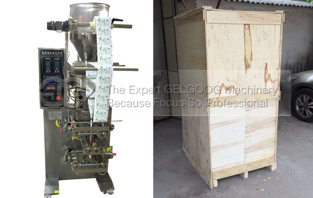 Sold Sugar Packing Machine To Turkey