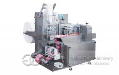 Single Wet Tissue Folding And Packing Machine
