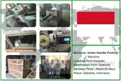 Instant Noodle Packing Machine To Djakarta