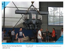 Rotary Cement Filling Machine To Argentina