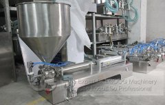 Peanut Butter Filling Machine Sold to Libya