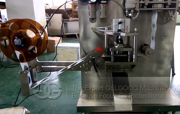 Round Tea Bag Packaging Machine