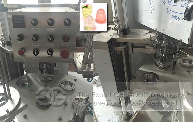 Rotary Cup Filling Sealing Machine