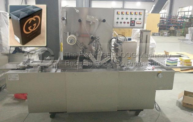 GGB-200A Cellophane Overwrapping Machine to England