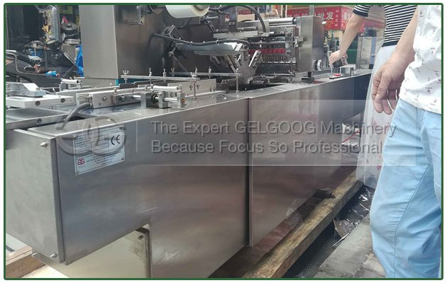 Cellophane Wrapping Machine for Business Cards to UK