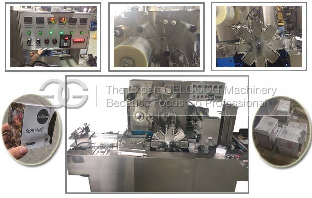 3D Cellophane Over Wrapping Machine