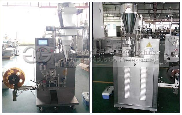 Round Tea Bag Packing Machine to Amercia