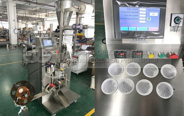 Factory Price Round Tea Bag Packing Machine To Saudi Arabia
